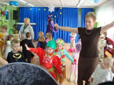 Bal w grupie 4 latków - 13 luty 2012