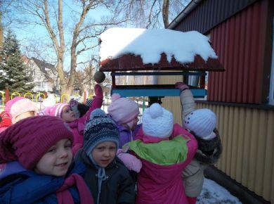 My się zimy nie boimy i na śniegu się bawimy - luty 2012